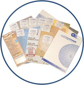 Our Sample packs contain silicone coated grease resistant papers, pure greaseproof paper, silicone coated vegetable parchment, tissue paper and printed greaseproof paper.