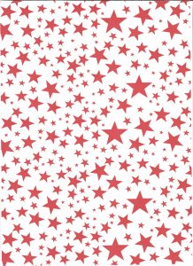 christmas printed greaseproof paper