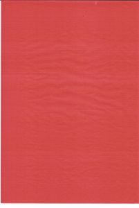 Flood Red Printed Greaseproof Paper