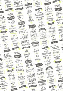 Random Printed Greaseproof Paper