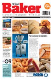 British baker magazine cover