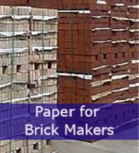 Brick interleaving paper